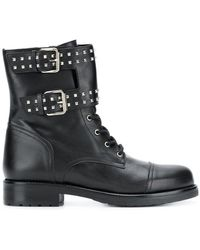 Albano - Buckle Detail Ankle Boots - Lyst