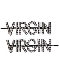 Ashley Williams - Virgin Embellished Hair Clips - Lyst