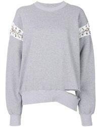 Aries - Deconstructed Sweatshirt - Lyst
