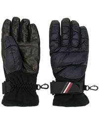 Moncler Grenoble - Logo Padded Gloves - Lyst