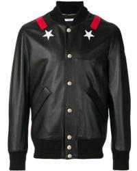 Givenchy - Star Bomber Jacket - Lyst