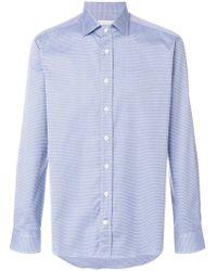 Etro - Intricate Striped Shirt - Lyst
