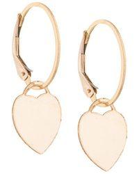Petite Grand - Heart Earrings - Lyst