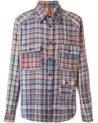 Missoni - Plaid Long Sleeve Shirt - Lyst