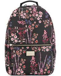 Emporio Armani - Floral Printed Backpack - Lyst