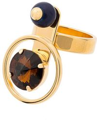 Marni - Multi Stone Orb Ring - Lyst