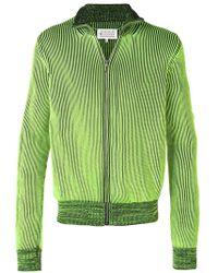 Maison Margiela - Zip-embellished Knit Cardigan - Lyst
