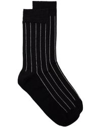 Haider Ackermann - Striped Socks - Lyst