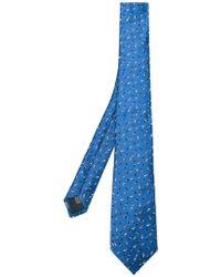 Lanvin | Embroidered Tie | Lyst