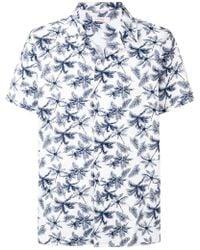Sun 68 - Palm Tree Print Shirt - Lyst