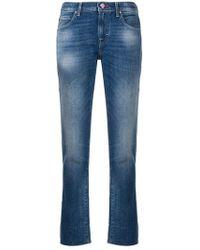 Jacob Cohen - Cropped Denim Jeans - Lyst