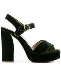 Tory Burch - Loretta Platform Sandals - Lyst