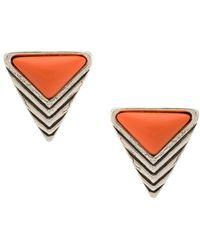 Camila Klein - Triângulo Earrings - Lyst