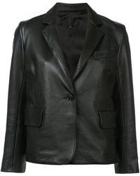 Nili Lotan - Buttoned Blazer Jacket - Lyst