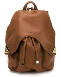 Valas - Leather Backpack - Lyst