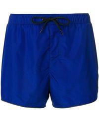 Versace - Medusa Patch Swim Shorts - Lyst