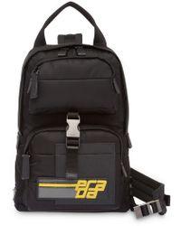 Prada - Rucksack mit Logo-Patch - Lyst