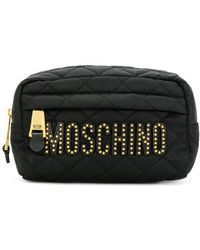 Moschino - Quilted Makeup Bag - Lyst