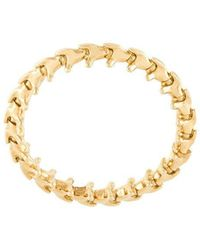 Shaun Leane - 18kt Yellow Gold 'serpent's Trace' Ring - Lyst