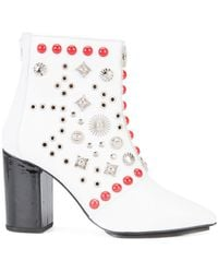 Toga Pulla - Studded Ankle Boots - Lyst