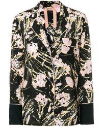 N°21 - Printed Pyjama Blouse - Lyst