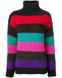 P.A.R.O.S.H. - Striped Sweater - Lyst