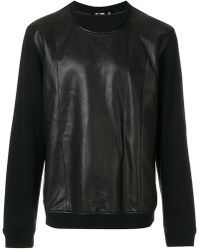 BLK DNM - Contrast Sleeve Sweatshirt - Lyst