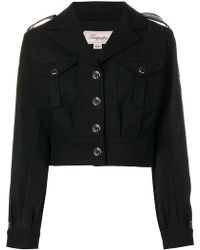 Temperley London - Medal Cropped Military Jacket - Lyst