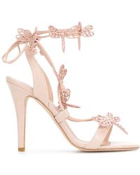 RED Valentino - Dragonfly Sandals - Lyst