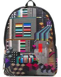 Paul Smith - Geometric Mini Print Backpack - Lyst