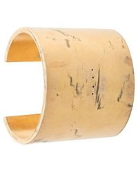 Parts Of 4 - Distressed Effect Cuff Bracelet - Lyst
