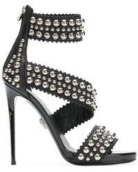 "Philipp Plein - Sandals High Heels ""rounded Studs"" - Lyst"