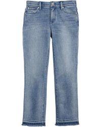 Burberry   Raw Edge Faded Jeans   Lyst