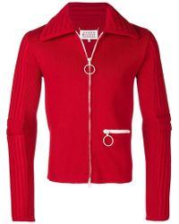 Maison Margiela - Ribbed Jacket - Lyst