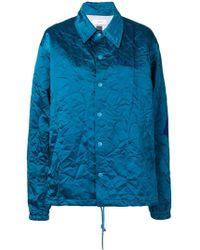 Facetasm - Crinkle-effect Jacket - Lyst