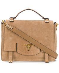 Polo Ralph Lauren - Foldover Top Shoulder Bag - Lyst