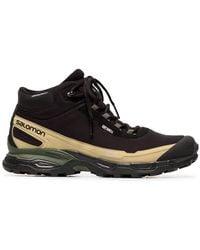 Salomon S/LAB - X The Broken Arm Black Shelter Sneakers - Lyst