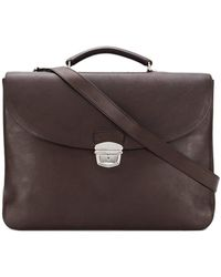 Orciani - Foldover Flap Briefcase - Lyst