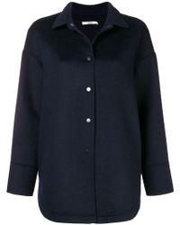 ODEEH - Oversized Shirt Jacket - Lyst