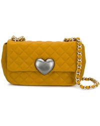 Boutique Moschino - Quilted Crossbody Bag - Lyst