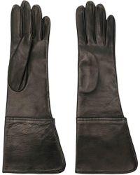 Manokhi - Tonal Stitching Gloves - Lyst
