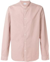 Dondup - Mandarin Collar Shirt - Lyst