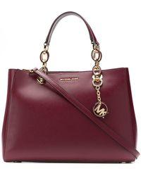 b61d80d96fd4 MICHAEL Michael Kors Extra Small 'cynthia' Crossbody Bag in Pink - Lyst