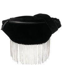 Les Petits Joueurs Crystal Belt Bag - Black
