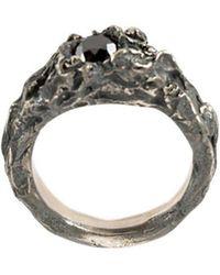 Tobias Wistisen - Black Diamond Ring - Lyst