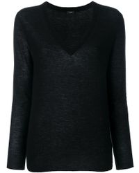 JOSEPH - Cashmere V-neck Fitted Jumper - Lyst