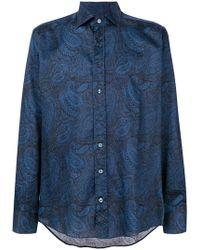 31494e91c Etro - Camisa con estampado de cashmere - Lyst