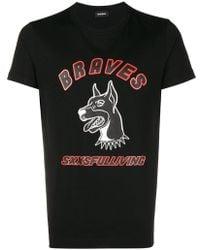DIESEL - T-diego-wf T-shirt - Lyst