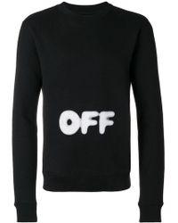 Off-White c/o Virgil Abloh - Printed Sweatshirt - Lyst