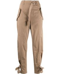 Pinko Belted Cargo Pants